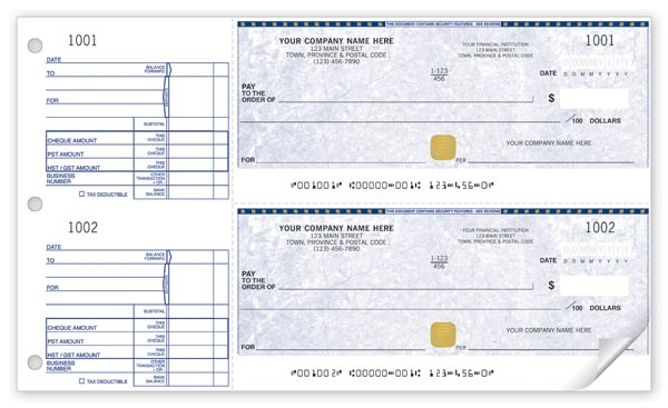 Security Cheque SS437