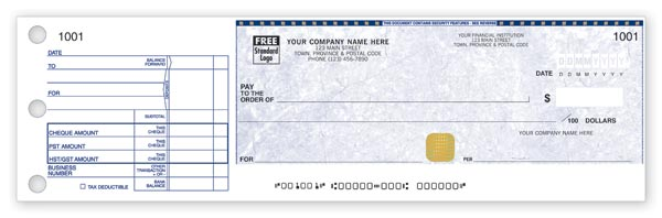 Security Cheque SS438