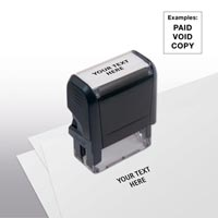 Design Your Own Stock Stamp, Small - Self-Inking