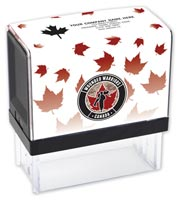 Custom Canadian Pride Stamp, Self-Inking