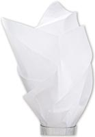Solid Tissue Paper, White, 20 x 30