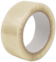 Retail & Shipping Supplies, Clear Carton Sealing Tape, 1.7 Mil, 2