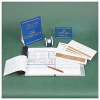Gift Certificates, One-Write - Gift Certificates - 500 Gift Certificate Kit