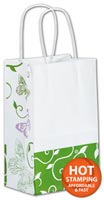 Bags, All a Flutter Shoppers, 5 1/4 x 3 1/2 x 8 1/4