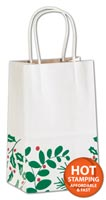 Bags, Berry Balsam Shoppers, 5 1/4 x 3 1/2 x 8 1/4