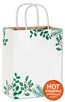 Bags, Berry Balsam Shoppers, 8 1/4 x 4 3/4 x 10 1/2