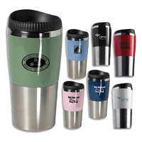 Promotional Travel Mugs - Stainless Steel