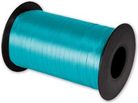 Ribbon, Splendorette Curling Turquoise Ribbon, 3/16