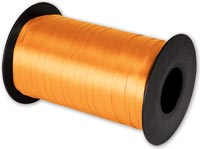 Ribbon, Splendorette Curling Tropical Orange Ribbon