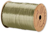 Pearlized Wraphia Champagne Gold Ribbon,1/4