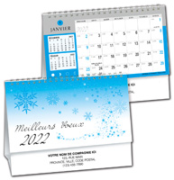 2020 Controller Desk Calendar - French