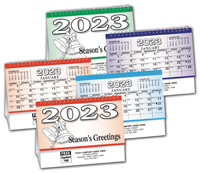 2020 Econo Colorama Desk Calendar - English