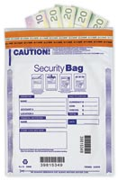 "9 x 12"" Single Pocket Deposit Bag, Opaque-414"
