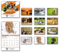2020 Hunting & Fishing Wall Calendar - Bilingual
