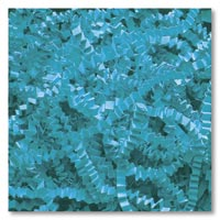 Retail & Shipping Supplies, Teal Crinkle Cut Fill