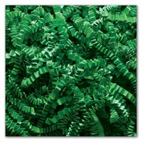 Retail & Shipping Supplies, Green Crinkle Cut Fill