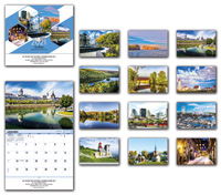 2020 Le Quebec Wall Calendar - French