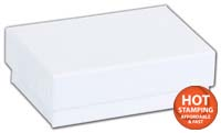 Boxes, White Krome Jewellery Boxes, 2 7/16 x 1 5/8 x 13/16