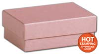 Boxes, Rose Gold Jewellery Boxes, 3 x 2 1/8 x 1