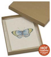 Boxes, Natural Kraft Jewellery Boxes, 6 x 5 x 1