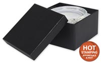 Boxes, Black Matte Jewellery Boxes, 3 1/2 x 3 1/2 x 1 7/8