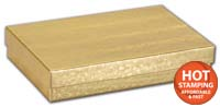 Boxes, Gold Foil Embossed Jewellery Boxes, 5 7/16 x 3 1/2 x 1