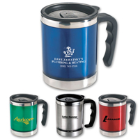 Promotional Gifts - Stainless Steel Desk Mugs