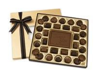 Chocolates & Cookies, Milk Chocolate Truffle Gift Box - 16 oz.