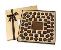 Chocolates & Cookies, Milk Chocolate Truffle Gift Box - 24 oz