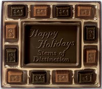 Chocolates & Cookies, Dark Chocolate Truffle Gift Box - 8 oz.