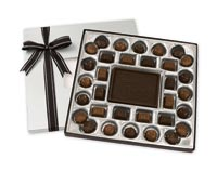 Chocolates & Cookies, Dark Chocolate Truffle Gift Box - 16 oz.