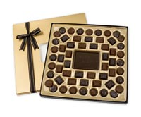 Chocolates & Cookies, Dark Chocolate Truffle Gift Box - 24 oz.