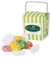 Mints & Candy, Mini Takeout Container w Citrus Slices