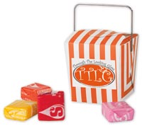 Mints & Candy, Mini Takeout Container w Starburst