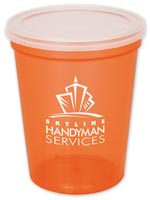 Tumblers & Cups, 16 oz. Stadium Cup w/lid