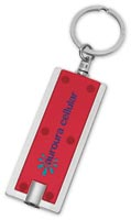 Rectangular LED Key Chain - 765444