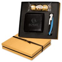 Chocolates & Cookies, Ferrero Rocher Chocolates, Coasters & Corkscrew Gift Set