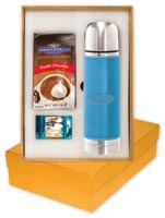Chocolates & Cookies, Ghirardelli & Tuscany Insulated Bottle Gift Set