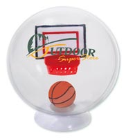 Desktop Basketball Globe Game