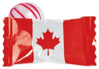 Canadian Flag Peppermint Candies
