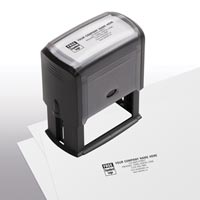 Name & Address Stamp, Large - Self-Inking Stamp
