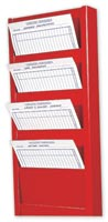 7 Pocket Work Order Rack-982
