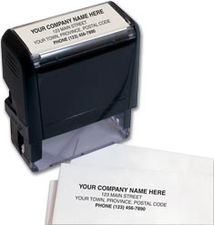 Custom Stamp, Small - Self-Inking