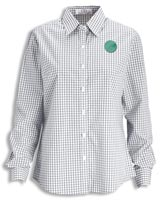 Shirts, Ladies Easy-Care Gingham Check Shirt