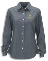 Shirts, Ladies Hudson Denim Shirt
