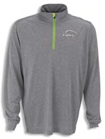 Shirts, Men's Vansport Mélange 1/4-Zip Tech Pullover