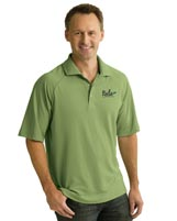 Shirts, Men's Perfomance Polyester Pique Polo, Embroidered