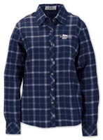 Shirts, Ladies Brewer Flannel shirt