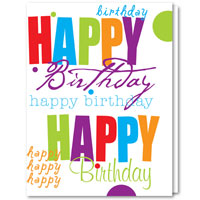 Business Birthday Cards - Happy Birthday