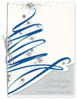 Star Bright Swirl Holiday Cards